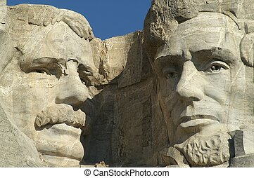 Roosevelt and Lincoln - Presidents Theodore Roosevelt and...