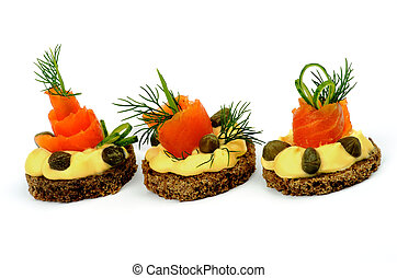 Smoked Salmon Snacks - Delicious Snacks with Smoked Salmon,...