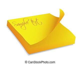 Yellow note block