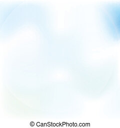 clear blue sky with clouds vector abstract background