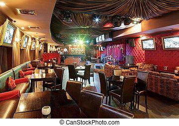 lujo, karaoke, europeo, estilo