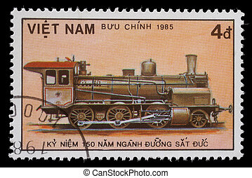 Stamp printed in Vietnam - VIETNAM - CIRCA 1985: A stamp...