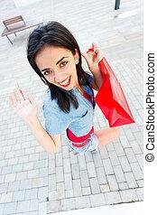 At Shopping