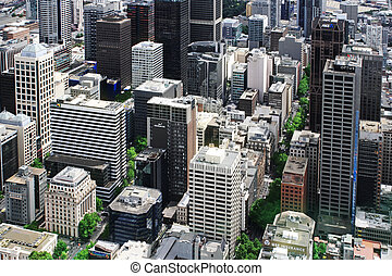 Melbourne with a bird's eye view