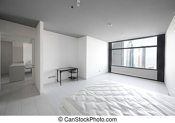 clean room in european style - luxury and very clean empty...