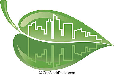 green building - symbolic illustration to encourage the...