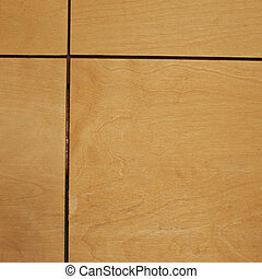 Wooden sheet tiles fragment as abstract background texture