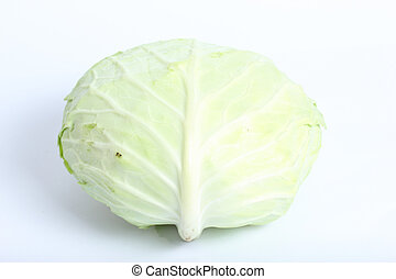 Closeup lettuce vegetable