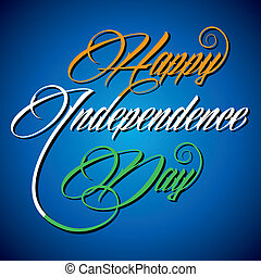 Creative Happy Independence Day