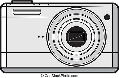 Compact digital camera (digital photo camera, professional...