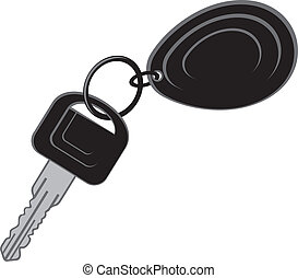 keys from the car (car key)