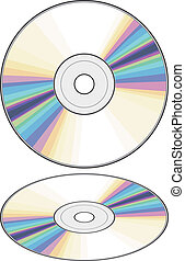 vector CD Compact disc