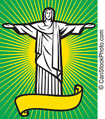 Christ the Redeemer statue - Brazil design - Christ the...
