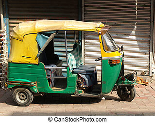 rickshaw taxi - rickshaw taxi in New delhi ,India...
