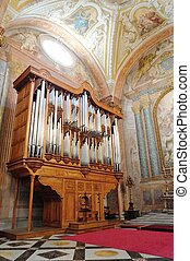 Old Pipe organ