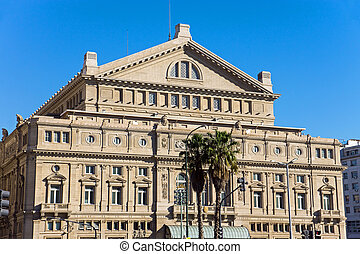 The Teatro Colon in Buenos Aires - The famous Teatro Colon...