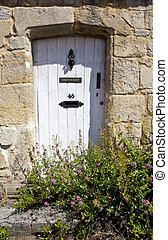 Quaint Village Doorway