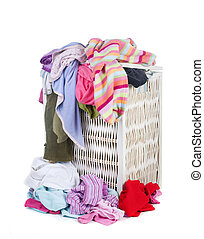 Dirty Laundry - A pile of dirty laundry Childrens clothes...