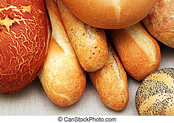 Artisan Bread Products - An assortment of artisan bread...
