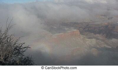 Winter Snow at Grand Canyon