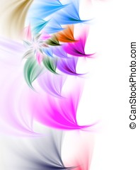 Flower Spiral Abstract
