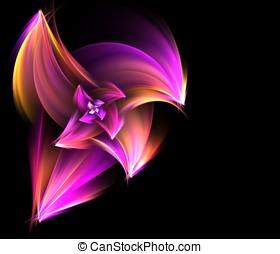 Spiral Flower Fractal