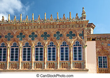 Ca' d'Zan Mansion of Ringling Museum, Sarasota, Florida