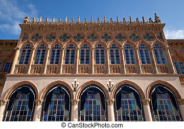 Ca dZan Mansion of Ringling Museum, Sarasota, Florida