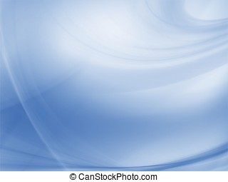 Fractal Abstract Background - Flowing blue texture -...