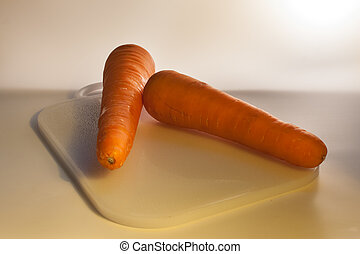 Carrot With Back Light