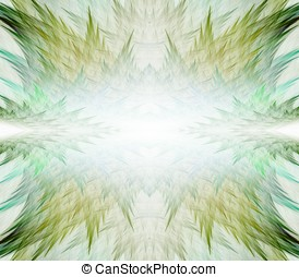 Nature Surreal Abstract - Dreamy, nature texture border...