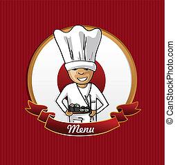 Food from Japan menu poster.
