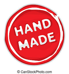 Rubber stamp hand made