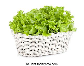 Lettuce in basket