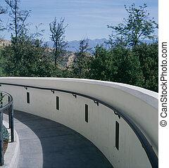 Ramp and walkway
