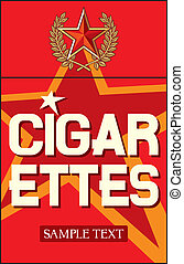 cigarettes label