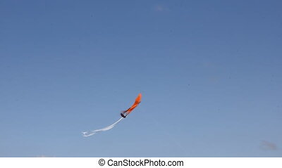 Kite flying under blue sky 8962