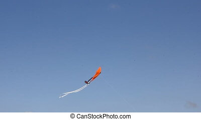Kite flying under blue sky 8962_01