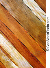 Diagonal Planks - Background photo of diagonal wooden planks...
