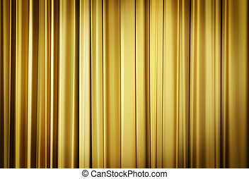 Yellow Theater Curtains - Theater stage yellow curtains...