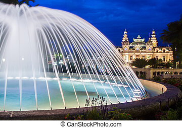 Casino of Monte Carlo. - The Monte Carlo Casino is a...