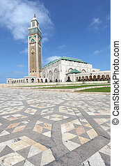 Mosque Hassan II in Casablanca, Morocco, North Africa