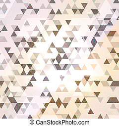 Abstract design background with a geometric pattern