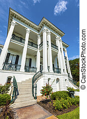 plantação, histórico,  Louisiana,  nottoway