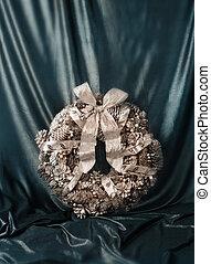 Christmas luxury wreath vintage style