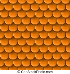 Roof tile background. - Abstract background with roof tile...
