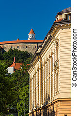 View of Bratistava Castle and Academy of Performing Arts