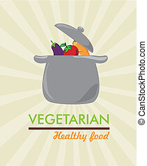 vegetarian healthy food - vegerarian healthy food over...