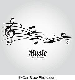 musique, notes