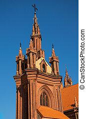 St. Anne Church in Vilnius